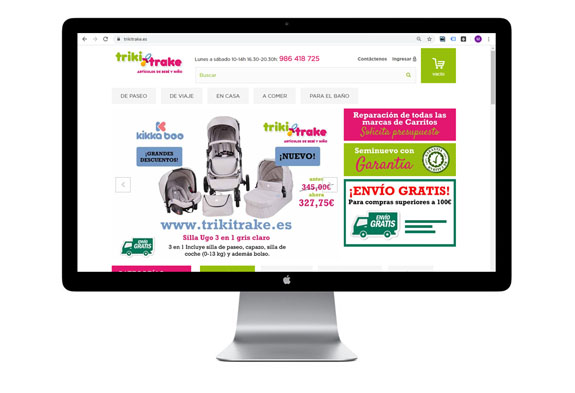 trikitrake tienda online bemarke marketing
